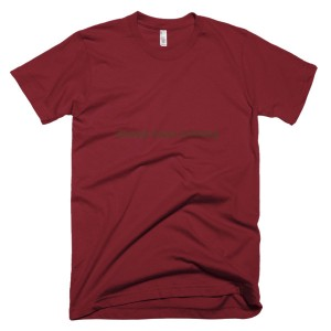 money buys nothing – T-Shirt Cranberry (Splashirt)