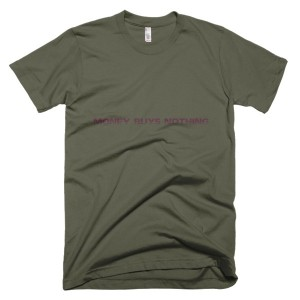 money buys nothing – T-Shirt Lieutenant (Splashirt)