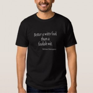 Shakespear t-shirt men's black
