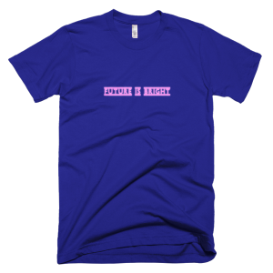 FUTURE IS BRIGHT – T-Shirt Lapis (Splashirt)