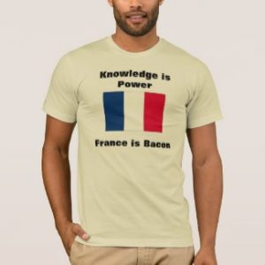 Knowledge Is Power - France Is Bacon