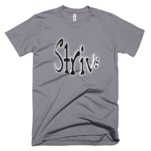 Strive – T-Shirt Slate (Splashirt)