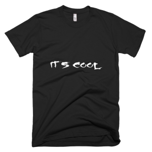 It's Cool – T-Shirt Black (Splashirt)