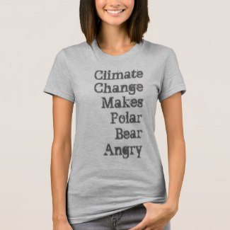 Climate Change Makes Polar Bear Angry (Women)