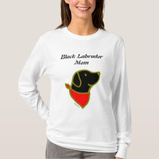 Black Labrador Mom (Women)