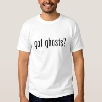 got ghosts t-shirt white