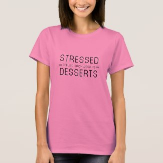 Stressed Spelled Backwards Is Desserts (Women)