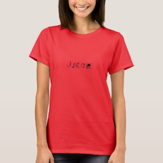 Just me - Women's T-Shirt (Zazzle)