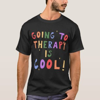 GOING TO THERAPY IS COOL!